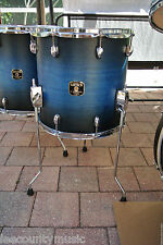 "GRETSCH 14"" CATALINA MAPLE SATIN BLUE BURST FLOOR TOM for YOUR DRUM SET! #T277"