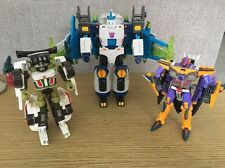 Transformers Energon Sharkticon Galvatron And Downshift