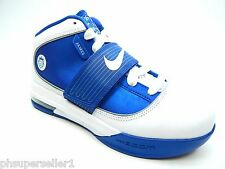NIKE ZOOM SOLDIER IV WHITE VARSITY ROYAL NEW WITH DEFECTS WOMEN SHOES SIZE 7.5