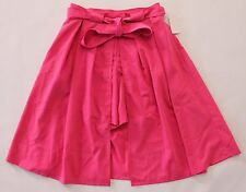 Mack & James Badgley Mischka Skirt Sz 8 Pink with Open Front & Attached Shorts