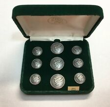 Waterbury Mallard Duck Blazer Button Set Sport Coat Buttons Hunting Silver