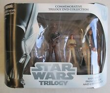 NIB 2004 HASBRO STAR WARS TRILOGY EP V COMMEMORATIVE DVD COLLECTION FIGURE SET