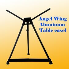 Aluminum Table Easel with Wing Foldable Canvas Poster Picture Frame Holder