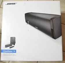 "Bose Cinemate 15 Home Theater Speaker System / Soundbar 12"" NEW!"