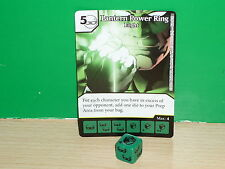 DICE MASTERS DC Justice League Rare - 124 Lantern Power Ring