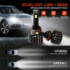 H11 90W CREE COB LED Headlight Kits  Super White 6000K Auto Headlamps Green-L 6S