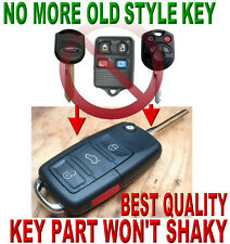 ALLin1 FLIP KEY REMOTE FOR 07~14 FORD MUSTANG TRANSPONDER CHIP KEYLESS ENTRY FOB