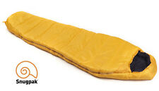 Snugpak SLEEPER EXPEDITION BASECAMP YELLOW 4 Season Mummy Sleeping Bag with Hood