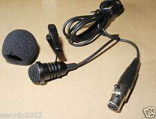 NEW Lavalier Lapel Microphone Mic For Shure KCX BLX GLX PG SLX ULX PGX Wireless