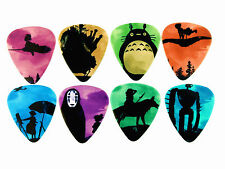 10pcs 1.0mm Two Side Musical Accessories Amine Design Jepanese guitar picks