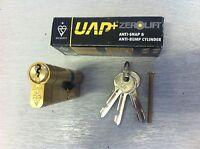 ANTI-SNAP ANTI-BUMP HIGH SECURITY UPVC DOOR LOCK CYLINDER BARREL Brass 45/45 UAP
