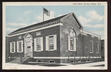Postcard WALNUT RIDGE AR Post Office View 1940's