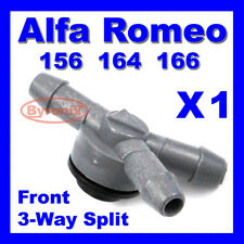 ALFA ROMEO 156 164 166 3 Three WAY PIPE VALVE WINDSCREEN WASHER JET SPLITTER