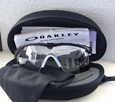 NWOT Authentic Oakley SI M Frame 2.0 Ballistic Safety Glasses Black/ Clear Lens