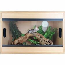 "Terapod 24"" 2ft Beech Pro Vivarium Reptile Housing"