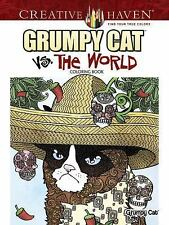 Adult Coloring: Creative Haven Grumpy Cat vs. the World Design Coloring Book...
