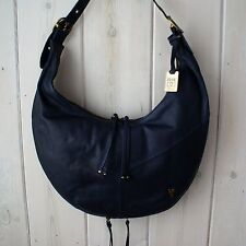 NWT Authentic Frye Belle Bohemian Urban Leather Hobo Shoulder Bag Indigo $458
