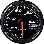 Defi Racer Gauge 52mm Pressure Meter DF06606 White