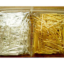 B3 400-Piece Silver/Gold Mix Head Pins for Jewelry Making(18mm)