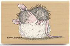 New House Mouse DREAMPUFF Rubber Stamp Stampabilities Sleeping Baby Cotton Ball