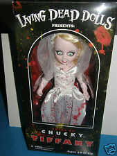 Living Dead Dolls  Tiffany   Bride of Chucky      2013 mezco toyz