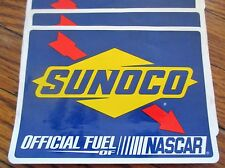 SUNOCO OFFICIAL FUEL OF NASCAR RACING DECALS STICKERS Lot 7