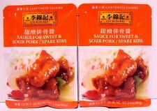 Pk 2 Lee Kum Kee Sauce For Sweet&Sour Pork/Spare Ribs Chinese Food Cuisine 2.8oz