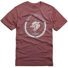 Electric Killers Short Sleeve Tee T-Shirt (M) Burgundy
