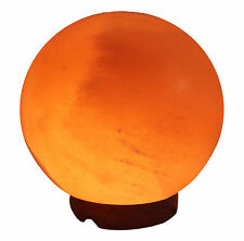 "Himalayan Salt Globe Light Lamp - 7"" Round - 8-10  pounds"