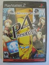 Shin Megami Tensei Persona 4 (New) Sony PlayStation PS2 RPG Game + Soundtrack CD