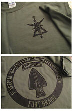 Delta Force (1st SFOD-D) Fort Bragg Silk-Screened T-Shirt Ultra Cotton LARGE