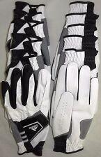 NEW Adidas Exert White/Black 2-Pack Golf Gloves Men's Left Hand (ML) 6-2 Pack