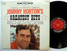 JOHNNY HORTON Greatest hits LP Columbia 1961 Rockabilly STEREO  Mg821