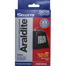 Selleys Araldite Super Strength Epoxy Adhesive 200ml holds upto 150kg