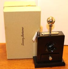 Tommy Bahama Corona Palms Plunger Cigar Cutter Black New Boxed
