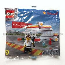 NEW* LEGO 40195 SHELL FERRARI Shell Station Set Limited Exclusive Retired Promo