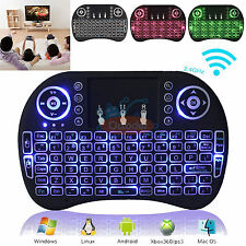 Backlight i8+ 2.4G Wireless Mini Keyboard Touchpad Android PC/Mac Smart TV BOX