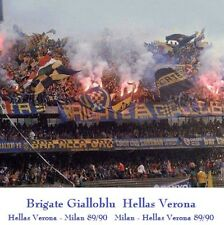 CD CURVA SUD BGB VERONA in VERONA - MILAN 89/90 - BGB HELLAS VERONA ULTRAS SONGS