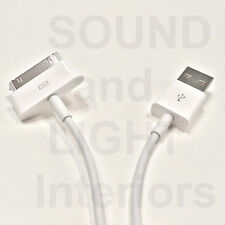 Apple 30 Pin USB Sync Charging Cable Original Authentic iPod Touch iPhone 3GS 4S