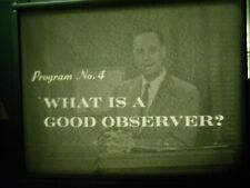 16 mm   What is a Good Observer 1200' Kinnescope