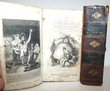 Cervantes Saavedra  The ADVENTURES of DON QUIXOTE London 1809 Smollet Chisciotte