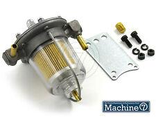 Filter King Petrol Fuel Pressure Regulator Glass Bowl 1-4.5 Psi 8mm Fuel Hose