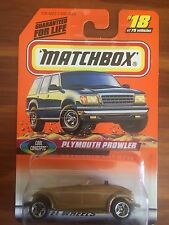 Matchbox - 1998 - #18 - Plymouth Prowler