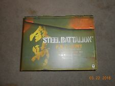 Steel Battalion (Microsoft Xbox, 2002) - New and Sealed 1st Run Green button Ver