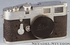 LEICA M3 Double Stroke 1954 CHROME CAMERA BODY VERY EARLY sn.700780 CLEAN RARE