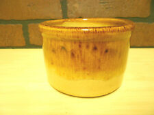 Vintage Roseville Robinson Ransbottom Pottery RRP Brown Drip Glazed Crock