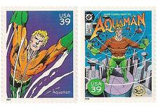 US 4084h 4084r DC Comics Super Heroes Aquaman 39c 2 stamps MNH 2006