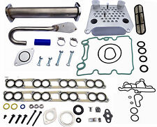EGR Delete Kit Engine Oil Cooler & Cooler Kit w/ Gaskets Ford 6.0L Diesel Turbo
