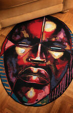 Ancestral Spirits ~ African American Tapestry Accent Rug