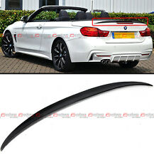 FOR 2014-16 BMW F33 CONVERTIBLE COUPE HIGH KICK CARBON FIBER TRUNK SPOILER WING
